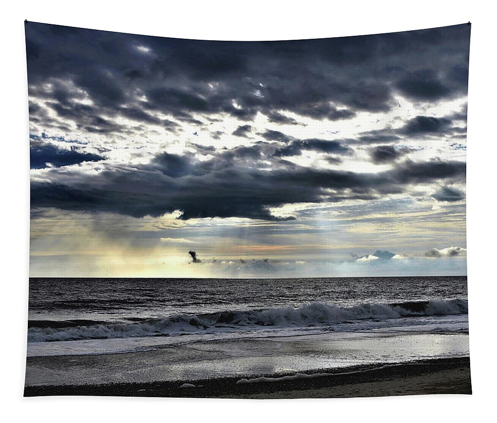 Tapestry featuring the photograph Sunrise Promise by Kim Bemis