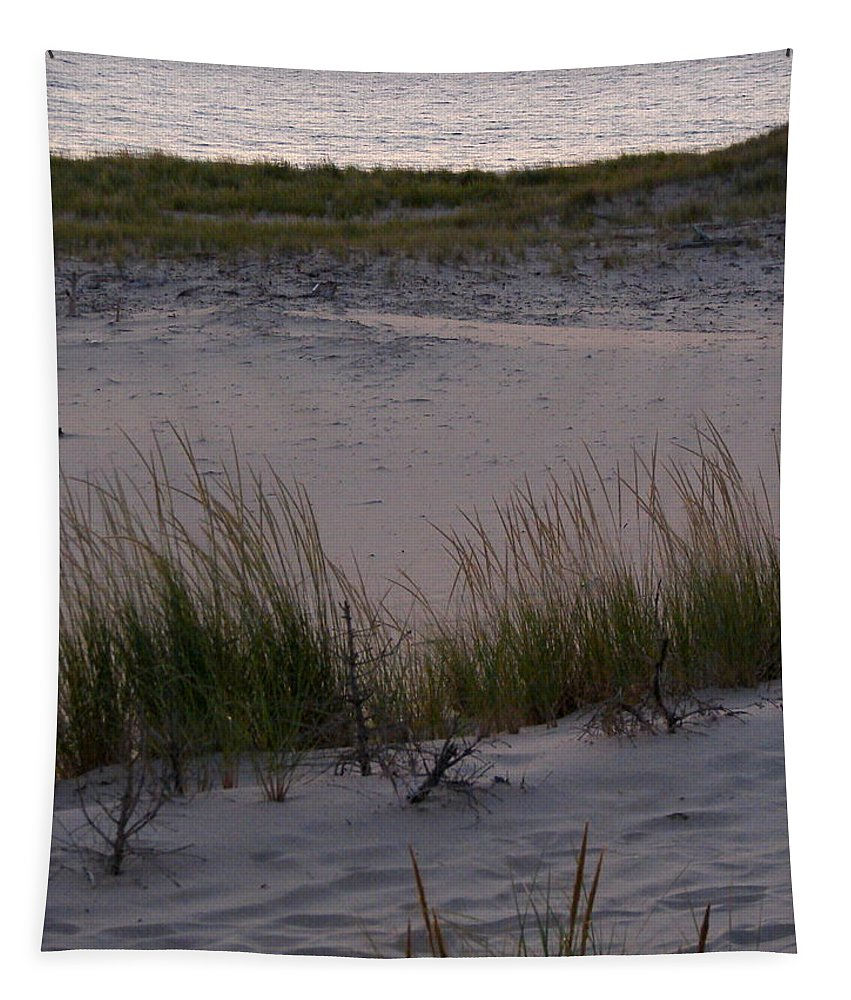 Travel Tapestry featuring the photograph Sunset On The Lake by Michelle Calkins