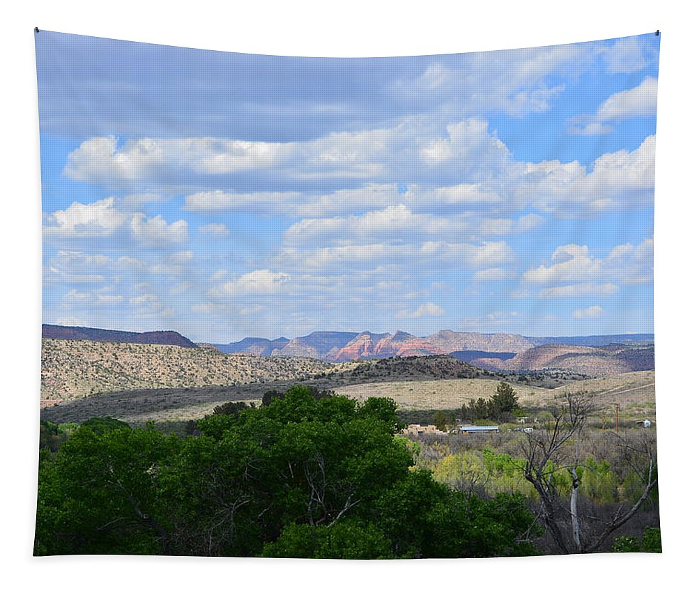 Desert Tapestry featuring the photograph Sunshine On The Mountains - Verde Canyon by Aimee L Maher ALM GALLERY