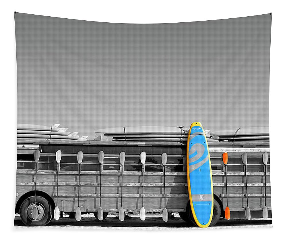 Surfer Tapestry featuring the photograph Summer Fun 2 by HH Photography of Florida