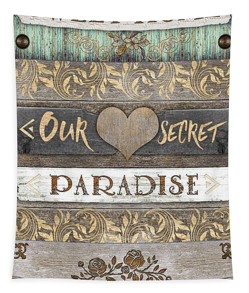 Sweet Paradise Tapestry featuring the photograph Sweet Paradise Series by Mo T
