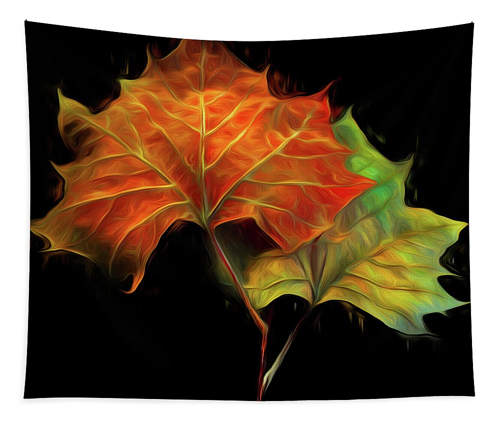 Appalachia Tapestry featuring the photograph Swirling In The Wind by Debra and Dave Vanderlaan