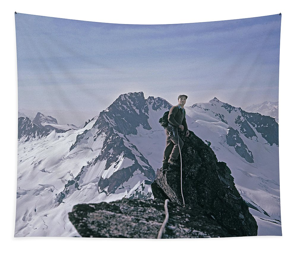 Joe Hieb Tapestry featuring the photograph T-04404 Joe Hieb 1 by Ed Cooper Photography