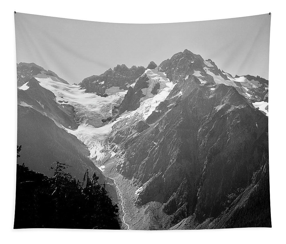 Mt. Formidable Tapestry featuring the photograph T-304403 Mt. Formidable by Ed Cooper Photography