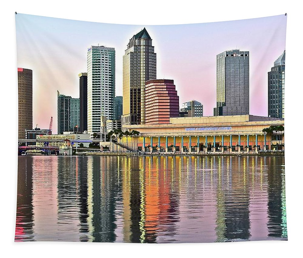 Tampa Tapestry featuring the photograph Tampa Bay Alive With Color by Frozen in Time Fine Art Photography