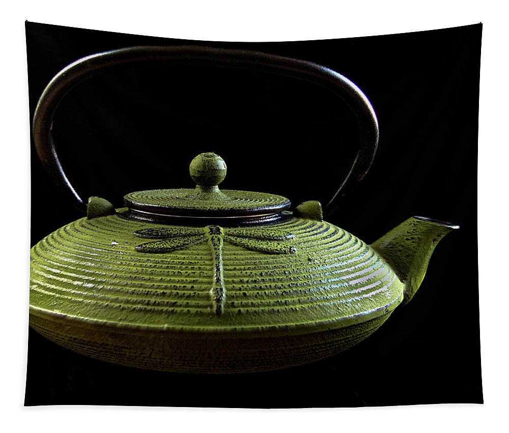 Jean Noren Tapestry featuring the photograph Tea Pot by Jean Noren