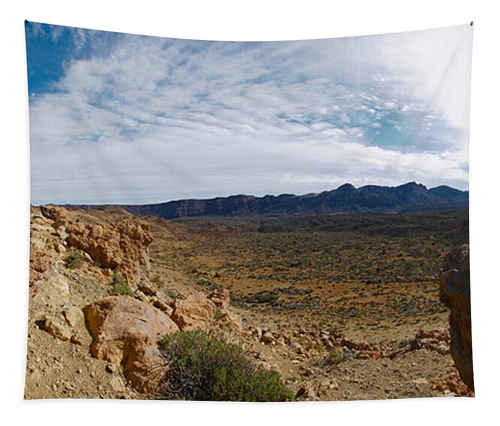 Landscape Tapestry featuring the photograph Teide Nr 14 by Jouko Lehto