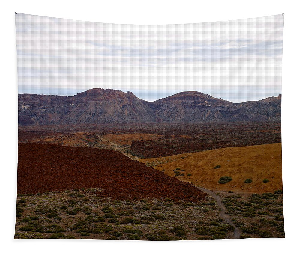 Landscape Tapestry featuring the photograph Teide Nr 2 by Jouko Lehto