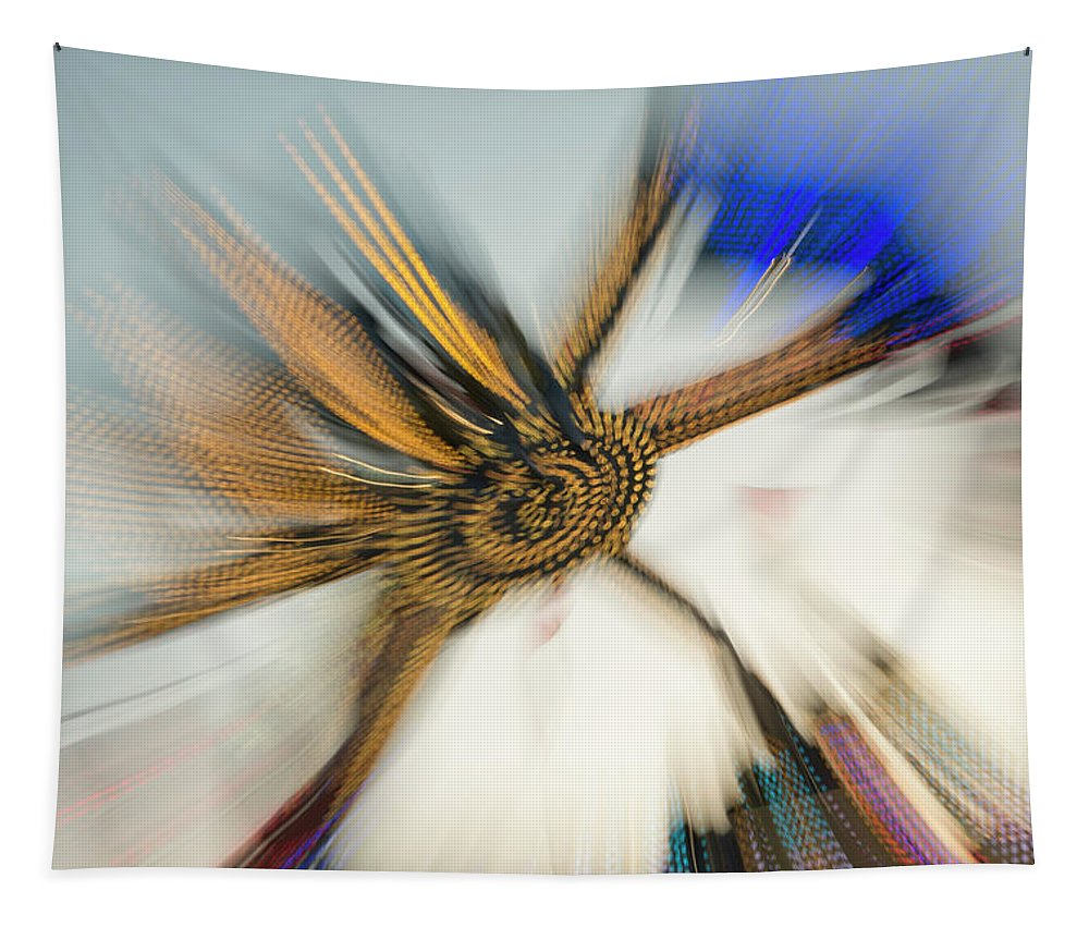 County Tapestry featuring the photograph Tentacular by Alex Lapidus