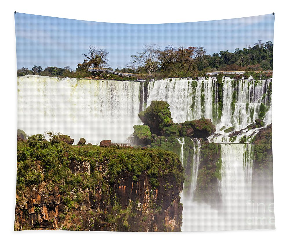 Nature Tapestry featuring the photograph Terraces Of Water by Mirko Chianucci