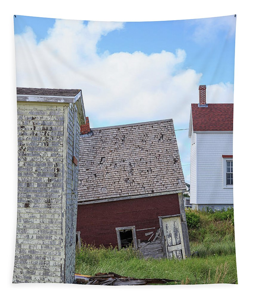 North Rustico Tapestry featuring the photograph That Sinking Feeling by Edward Fielding