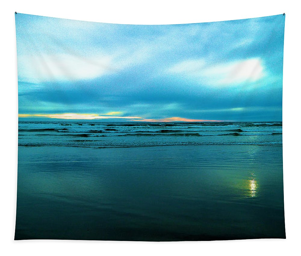 Ocean Tapestry featuring the photograph The Calm Of The Ocean by Jeff Swan