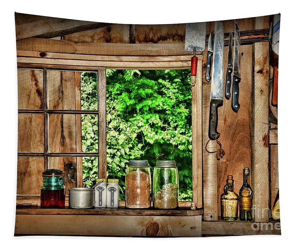 Paul Ward Tapestry featuring the photograph The Country Kitchen by Paul Ward