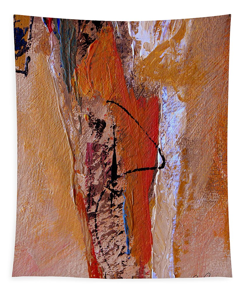 Abstract Tapestry featuring the painting The Dance by Ruth Palmer