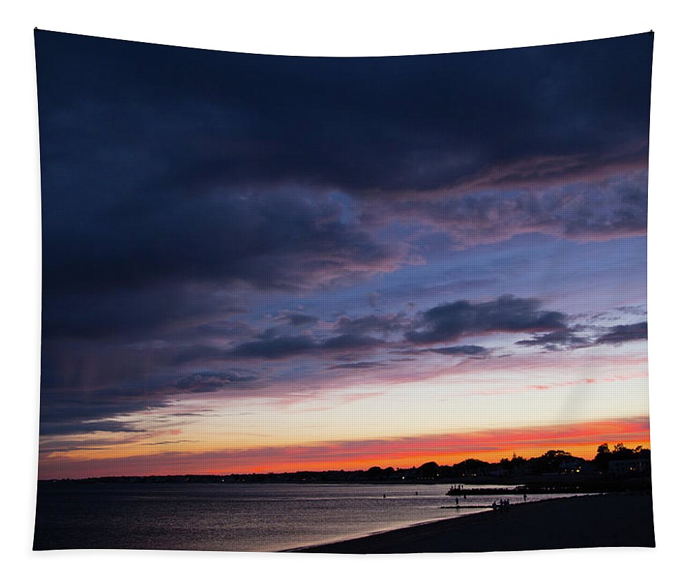 Evening Rests Tapestry featuring the photograph The Day Rests by Karol Livote