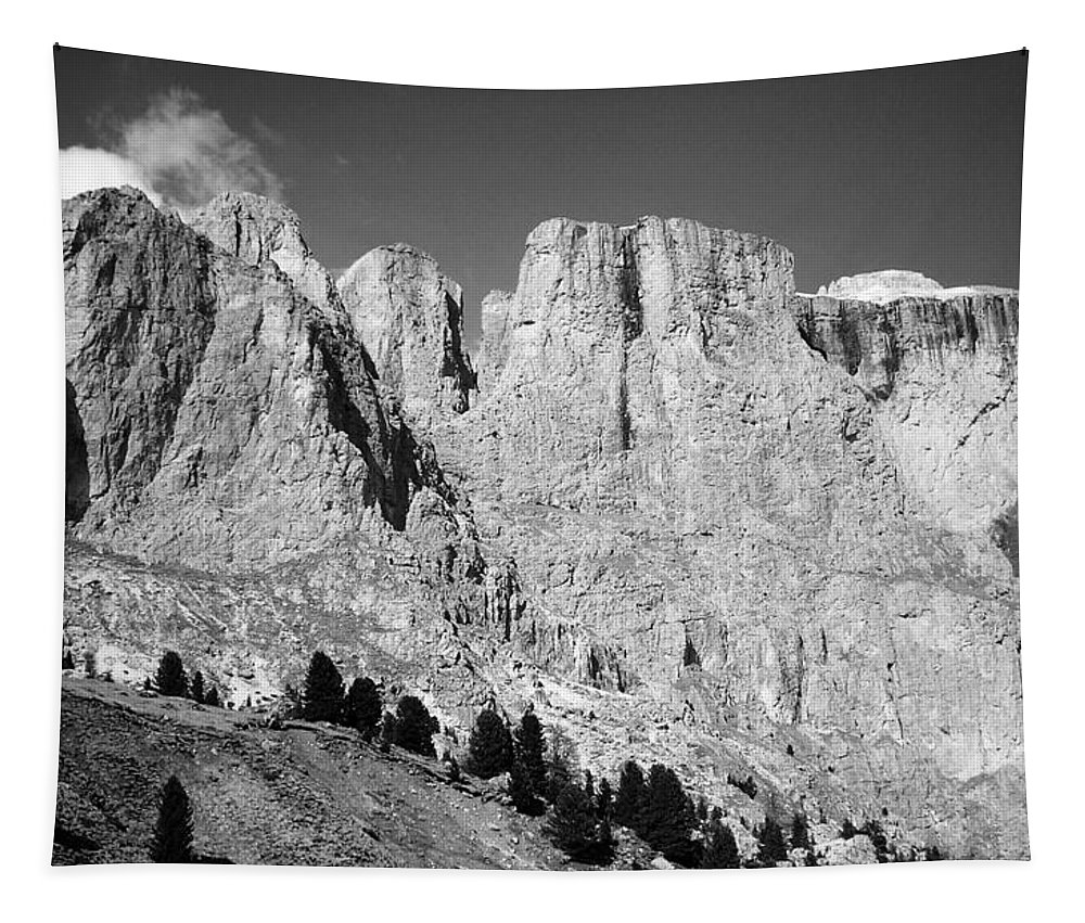 Europe Tapestry featuring the photograph The Dolomites by Juergen Weiss