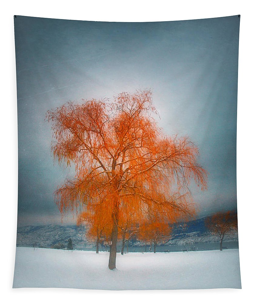 Tree Tapestry featuring the photograph The Dreams Of Winter by Tara Turner