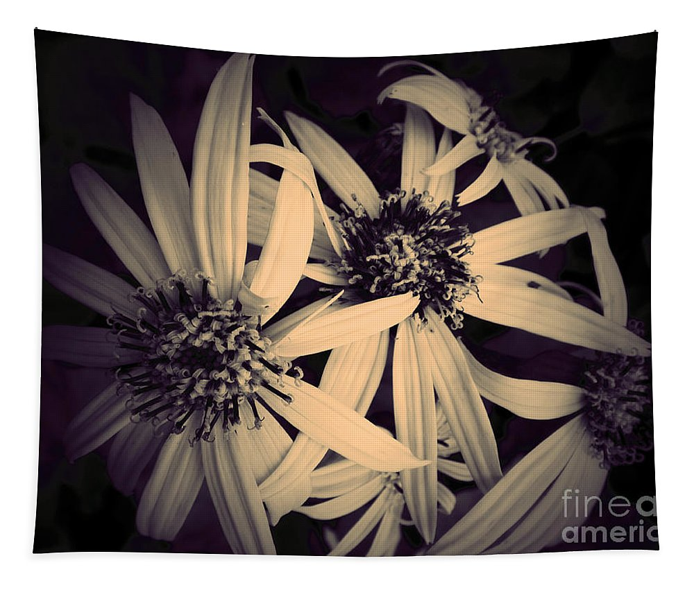 Flowers Tapestry featuring the photograph The Embrace by Tara Turner
