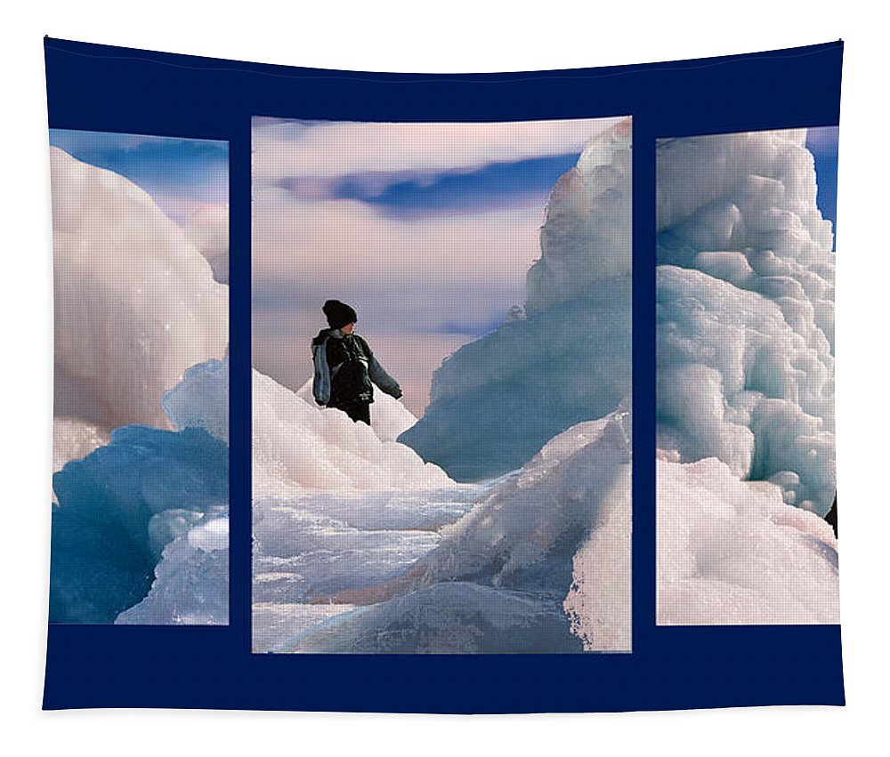 Landscape Tapestry featuring the photograph The Explorers by Steve Karol