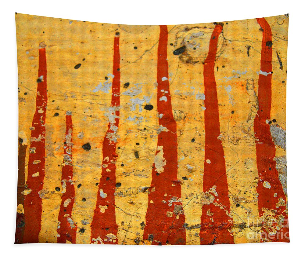 Paint Tapestry featuring the photograph The Fire by Tara Turner