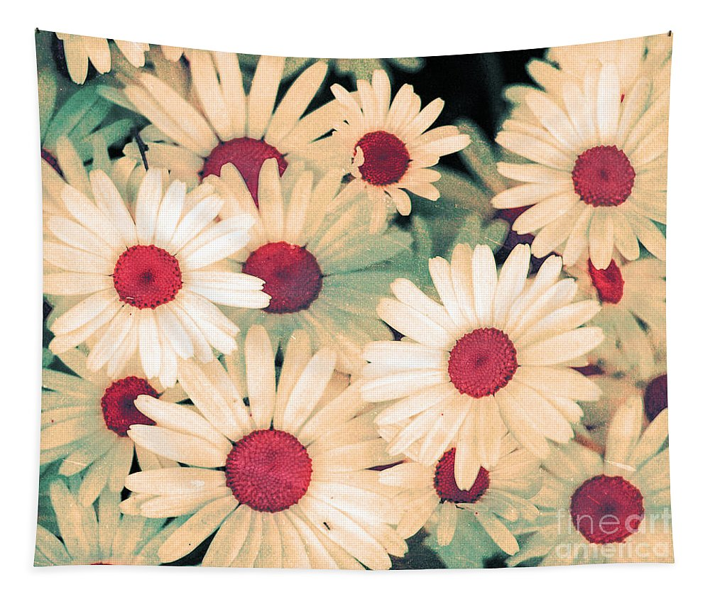 Flowers Tapestry featuring the photograph The Flowers At 5 Am by Tara Turner