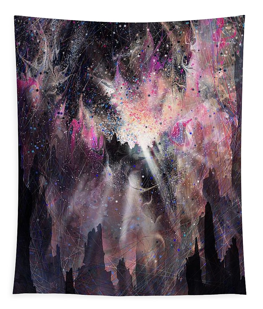 Landscape Tapestry featuring the digital art The Gift by William Russell Nowicki