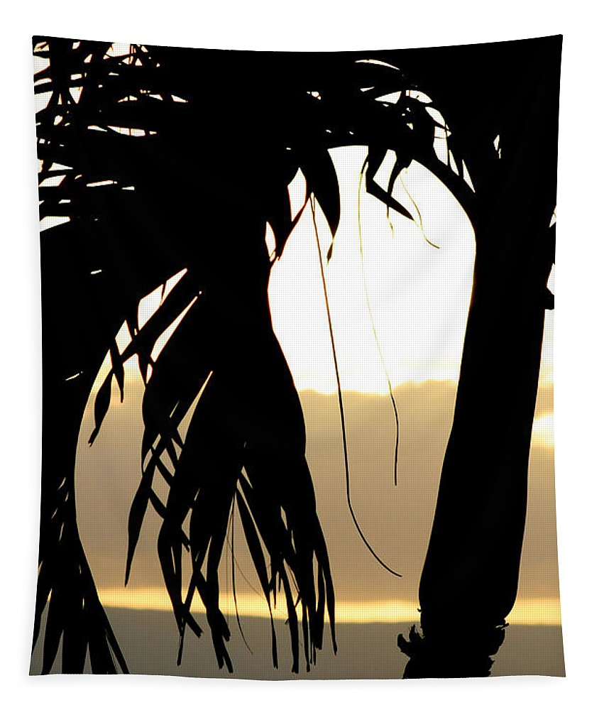 Maui Tapestry featuring the photograph The Glow Of Maui by Chris Brannen