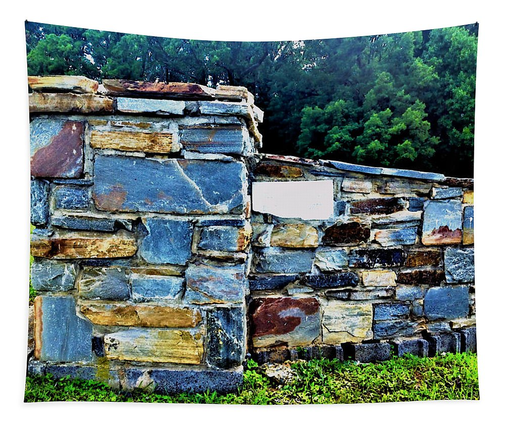 Stone Tapestry featuring the photograph The Grateful Stone Wall by Debra Lynch