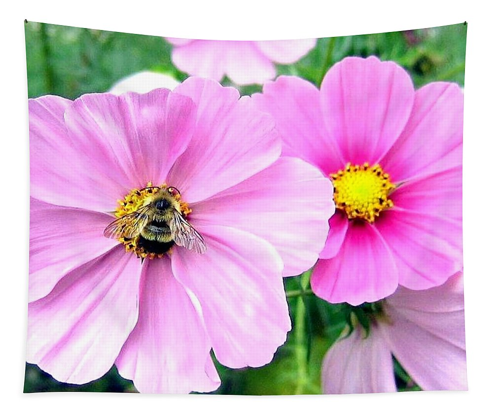 Bee Tapestry featuring the photograph The Honeymaker by Will Borden