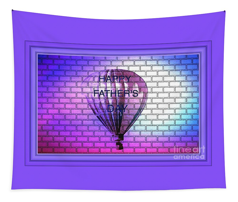 Hot Tapestry featuring the photograph The Hot Air Balloon Ride by Debra Lynch