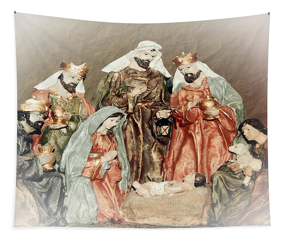 Greeting Card Tapestry featuring the photograph The King Of Kings by Leticia Latocki