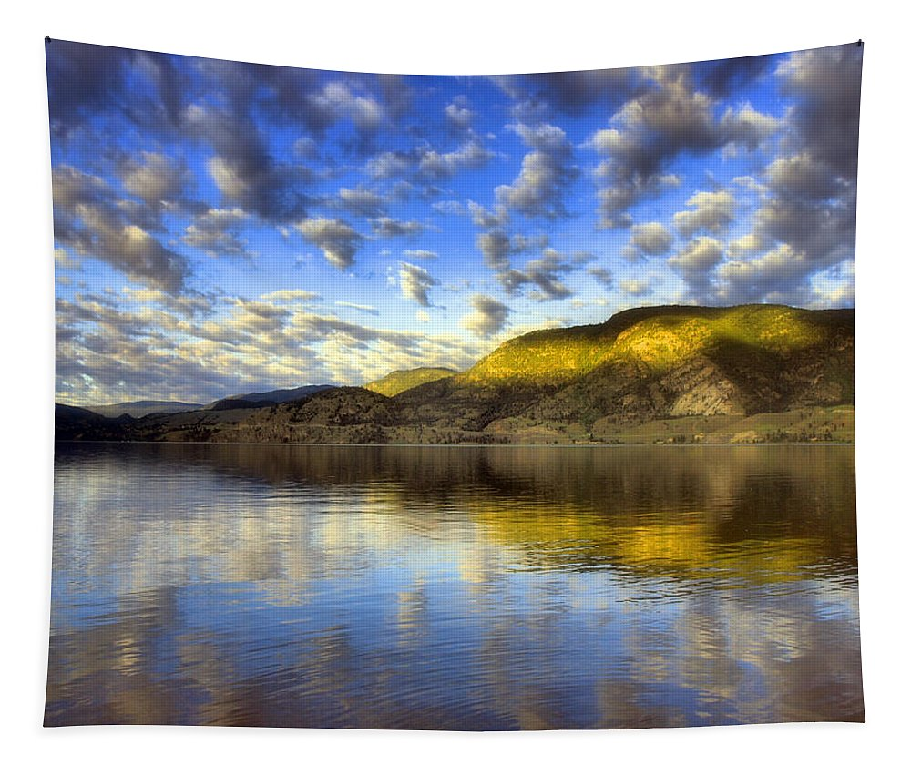 Light Tapestry featuring the photograph The Light At Skaha Lake by Tara Turner