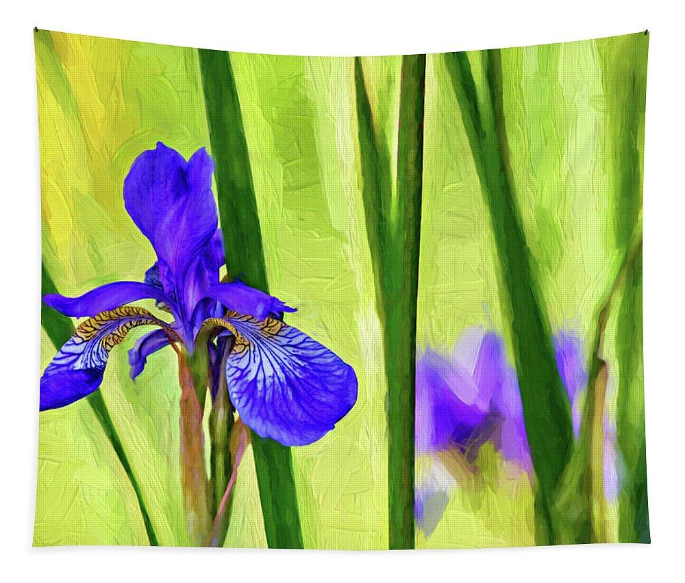 Steve Harrington Tapestry featuring the photograph The Mystery Of Spring - Paint by Steve Harrington