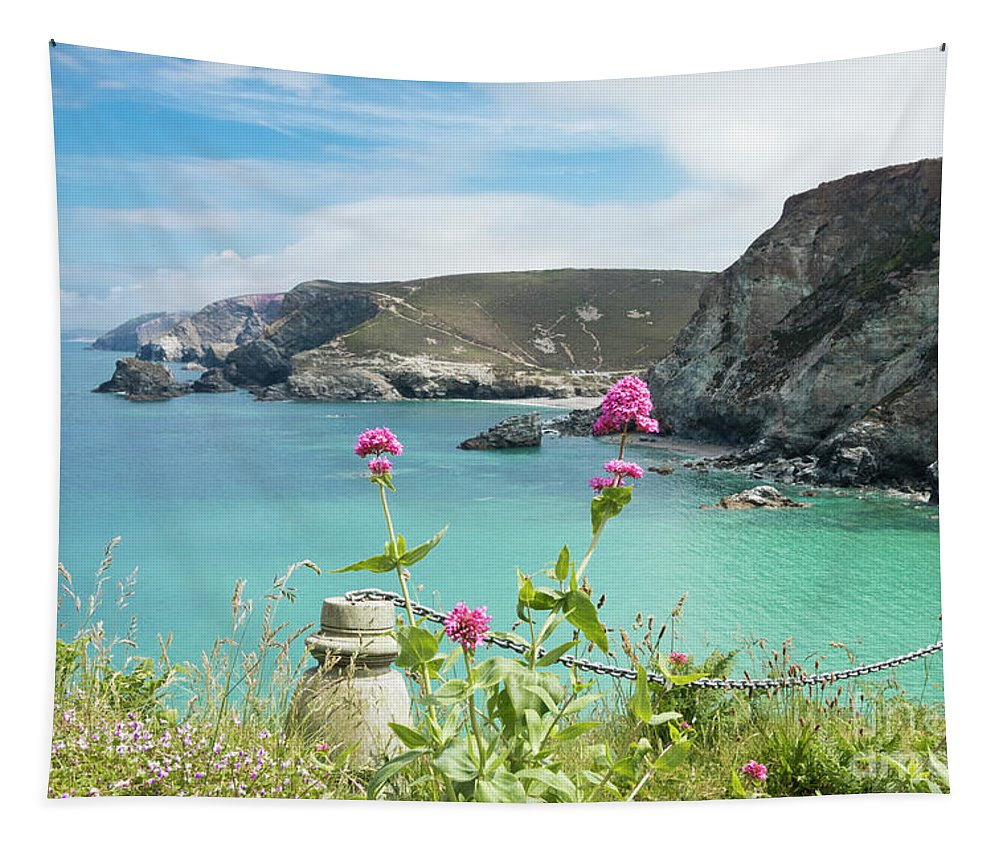 St Agnes Tapestry featuring the photograph The North Cornwall Coast by Terri Waters