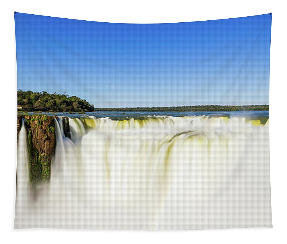 Nature Tapestry featuring the photograph The Power Of Nature by Mirko Chianucci