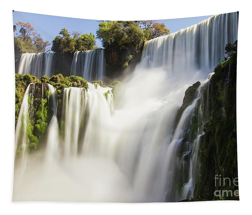 Nature Tapestry featuring the photograph The Power Of Water by Mirko Chianucci