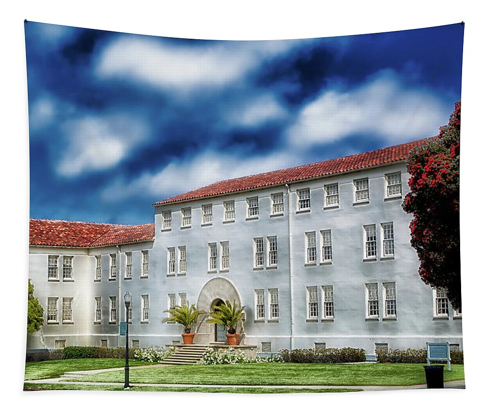 The Presidio Tapestry featuring the photograph The Presidio by Mountain Dreams