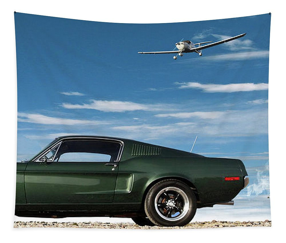 The Rendezvous - 1968 Mustang Fastback Tapestry