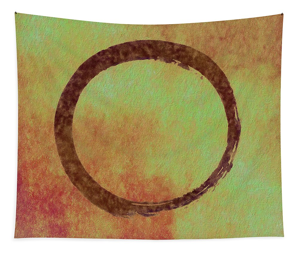 The Ring Tapestry featuring the painting The Ring by Dan Sproul