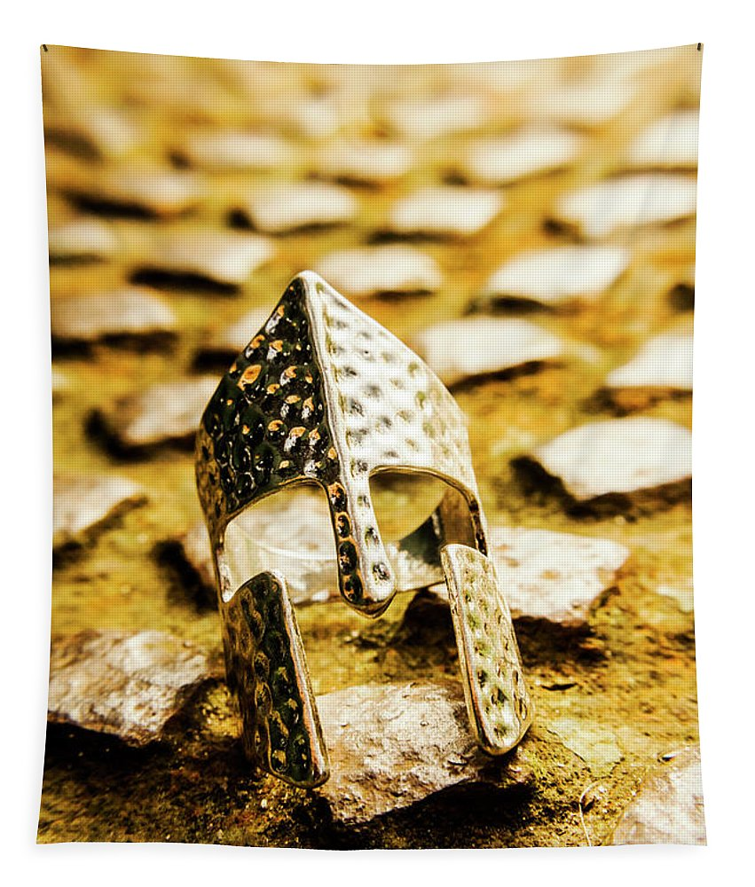 Rome Tapestry featuring the photograph The Roman Pavement by Jorgo Photography - Wall Art Gallery