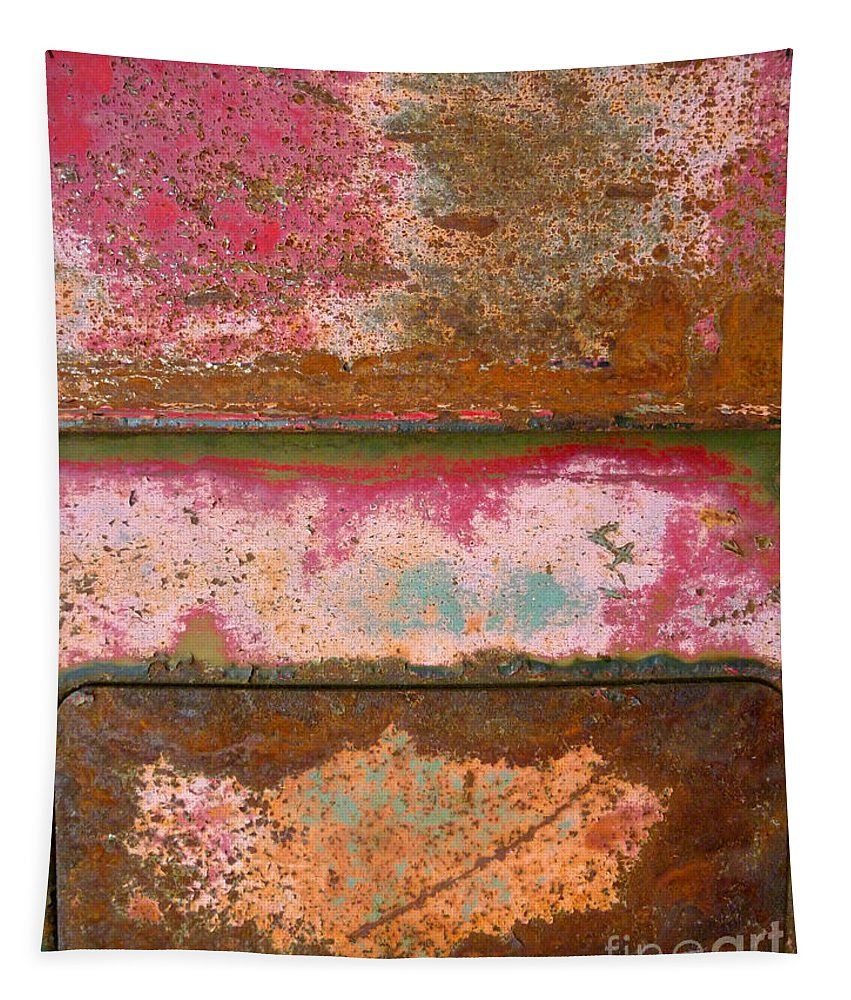 Urban Tapestry featuring the photograph The Rusty Truck by Tara Turner