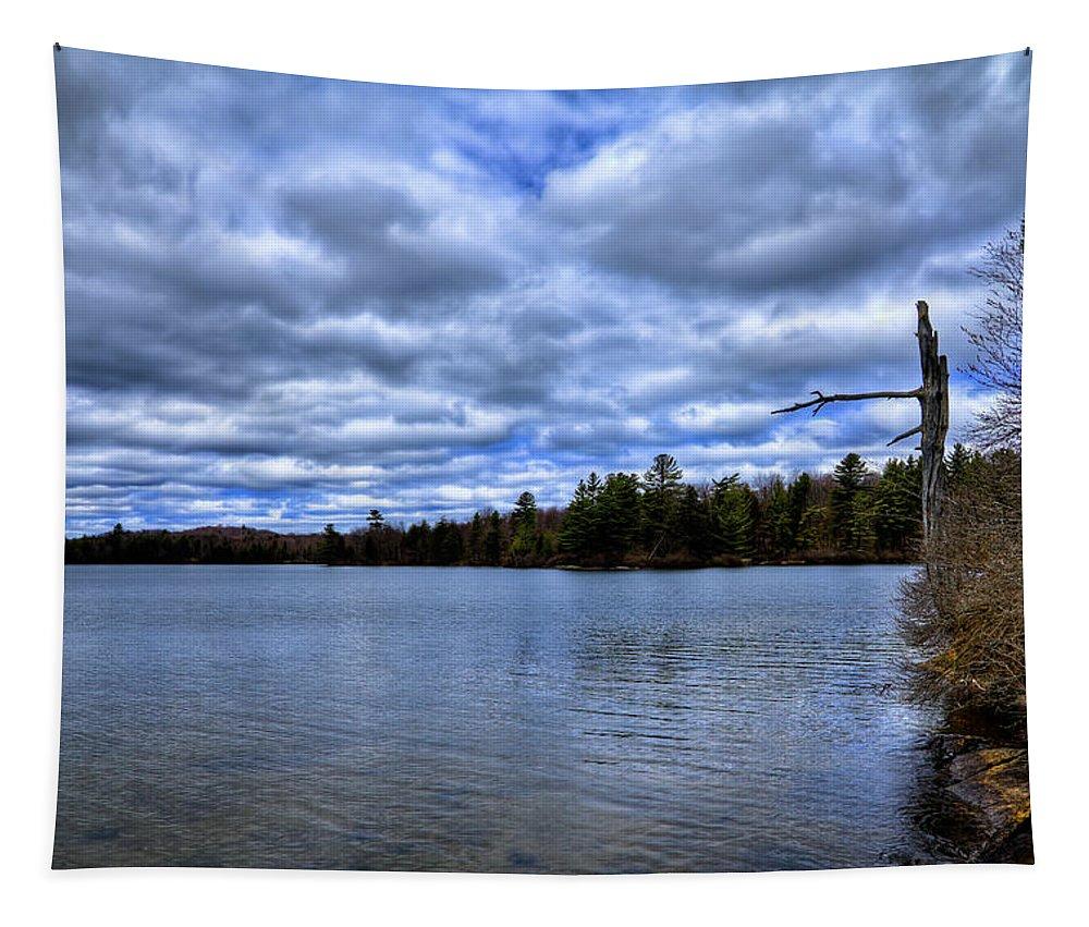 The Serenity Of Limekiln Lake Tapestry featuring the photograph The Serenity Of Limekiln Lake by David Patterson