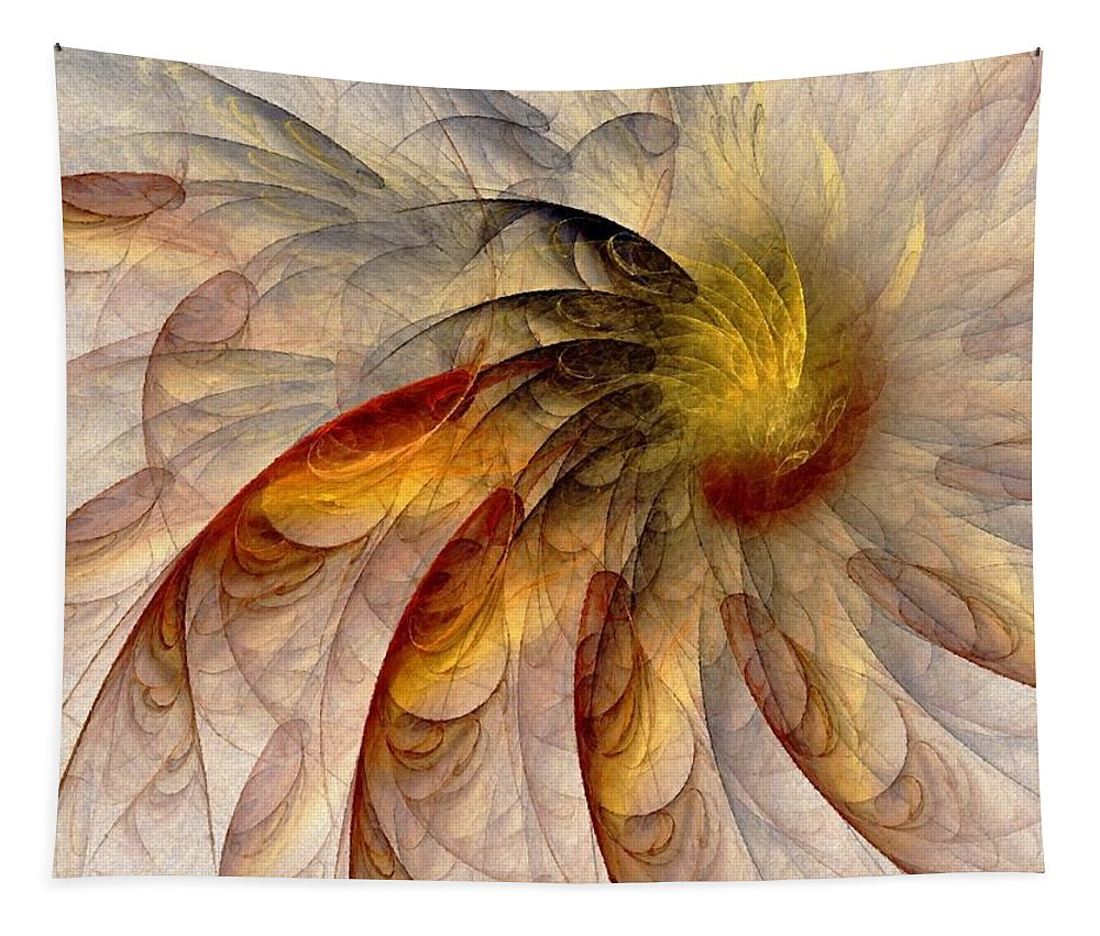 Sun Tapestry featuring the digital art The Sun Do Move - Remembering Langston Hughes by Nirvana Blues