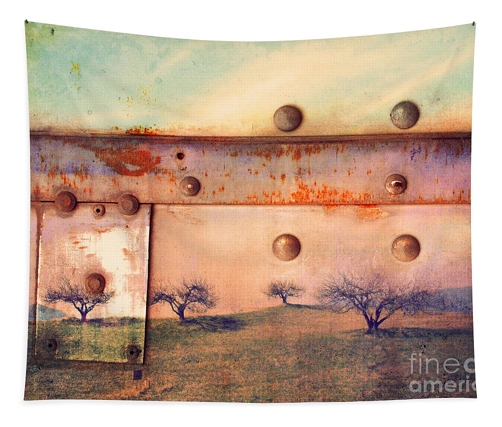 Trees Tapestry featuring the photograph The Urban Trees by Tara Turner