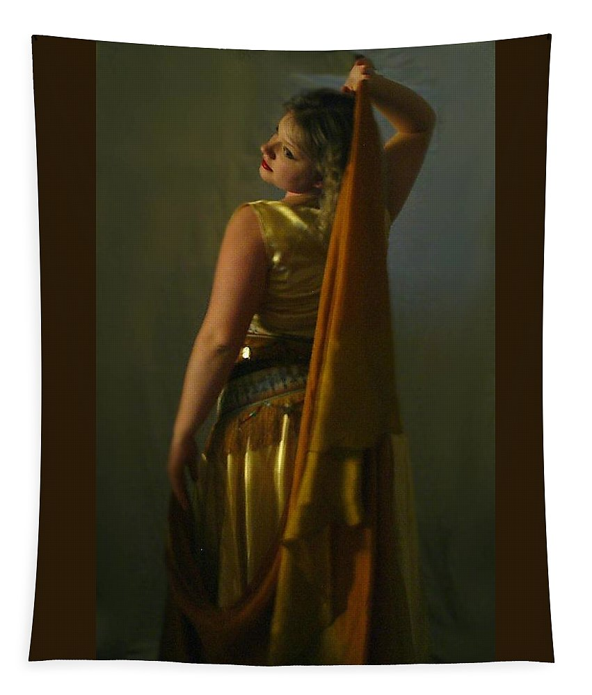 Veil Tapestry featuring the digital art The Veil by Scarlett Royal