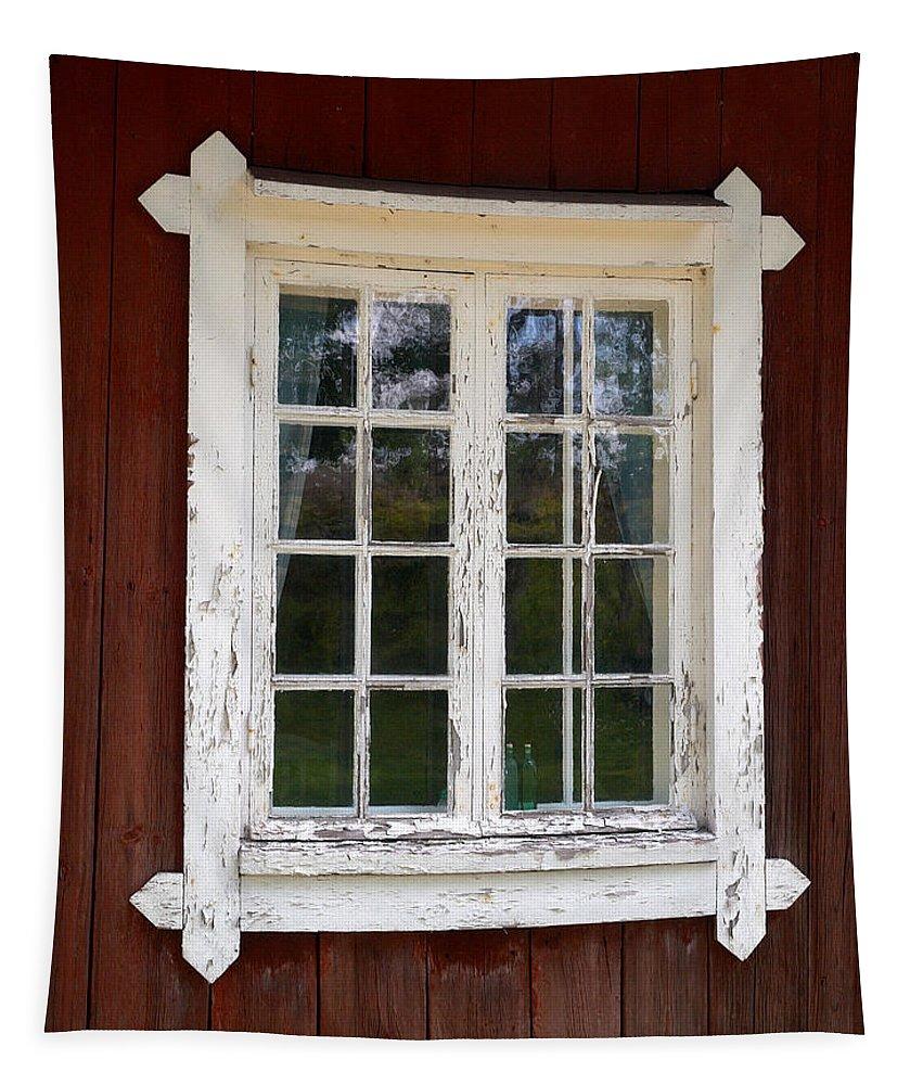 Lehtokukka Tapestry featuring the photograph The Window 1 by Jouko Lehto