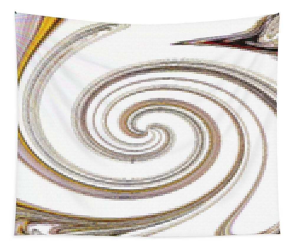 Bird Tapestry featuring the digital art There Goes My Baby by Debra Lynch