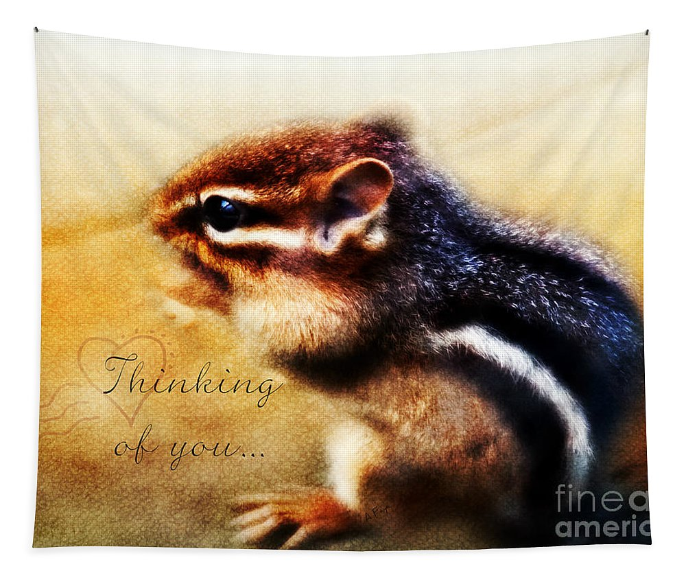 Thinking Of You Tapestry featuring the photograph Thinking Of You by Anita Faye