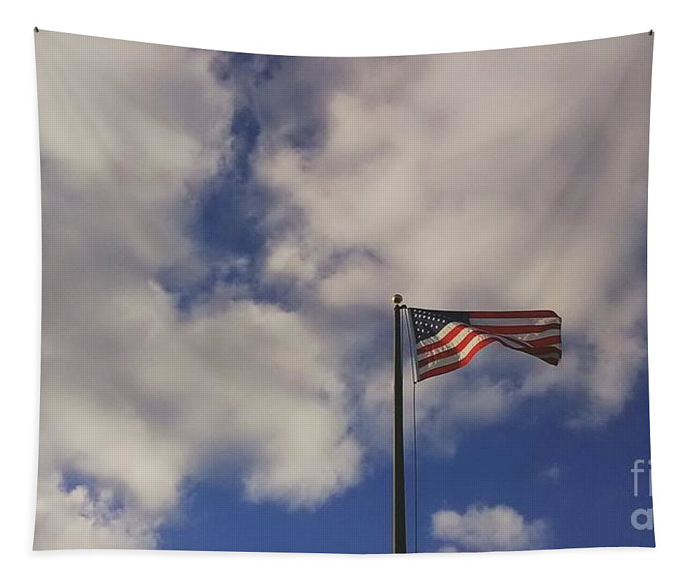 Frank J Casella Tapestry featuring the photograph This Land Was Made For You And Me by Frank J Casella