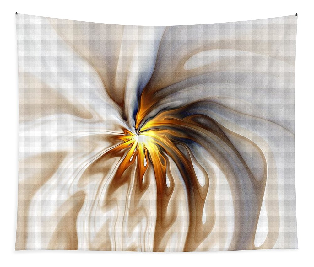 Digital Art Tapestry featuring the digital art This too will pass... by Amanda Moore